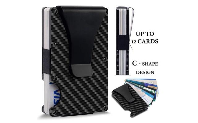 RFID Blocking Metal Wallet